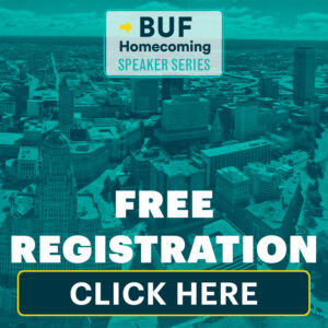 Click here to learn more and register for the next Buffalo Homecoming Speaker Series event